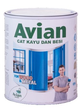 Gambar Harga Cat Besi dan Kayu Avian