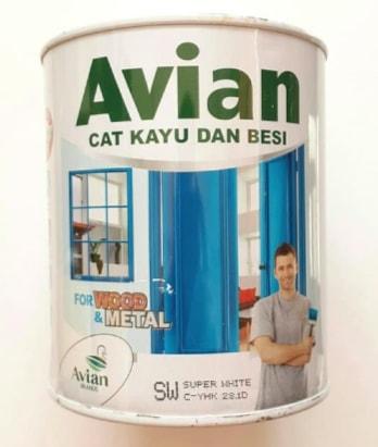 Gambar Harga Cat Minyak Avian