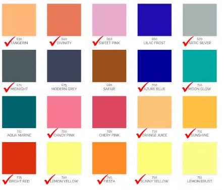 Katalog Warna Cat Avitex Interior 2