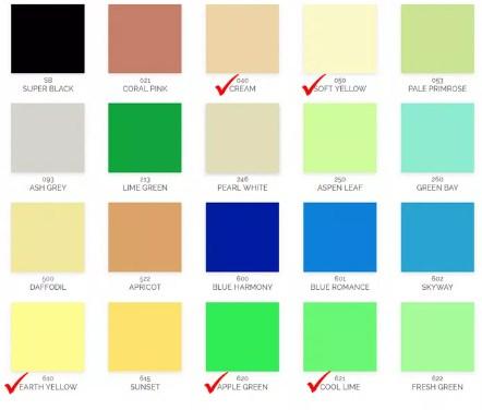 Katalog Warna Cat Avitex Interior 4