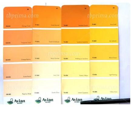 Katalog Warna Cat Avitex Roof (Genteng Seng) 2