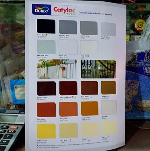 Katalog Warna Cat Catylac Hi Gloss