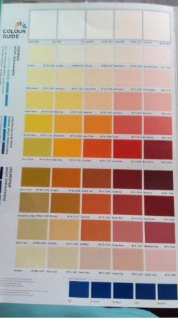 Katalog Warna Cat Nippon Paint Spot Less