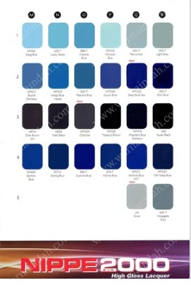 Katalog Warna Nippon Paint Nippe 2000 3