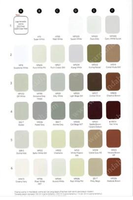 Katalog Warna Nippon Paint Nippe 2000 4
