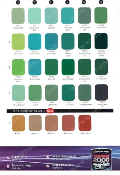 Katalog Warna Nippon Paint Nippe 2000