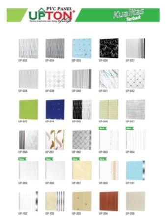 Catalog Warna Motif Plafon PVC Upton 2
