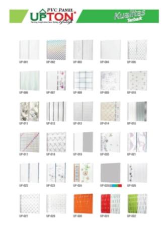 Catalog Warna Motif Plafon PVC Upton 3