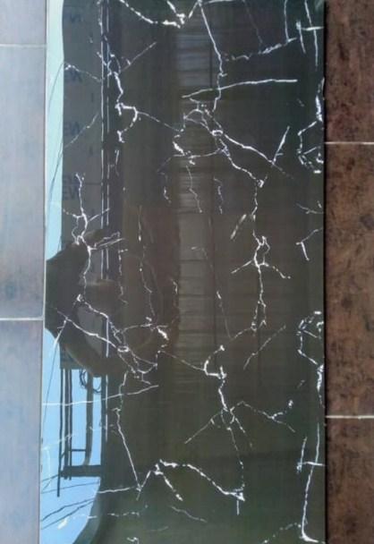 Gambar Harga Granit Garuda Black Marquina