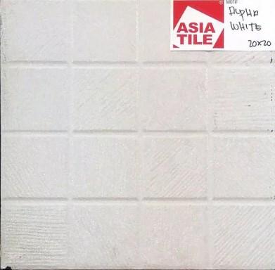 Model Keramik Kamar Mandi Merk Asia Tile White