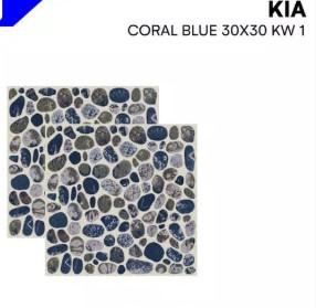 Model Keramik Kamar Mandi Merk Kia Coral Blue