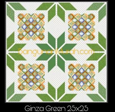 Model Keramik Kamar Mandi Merk Uno Ginza Green