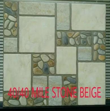 Motif Keramik Lantai 40x40 Accura Milestone Beige