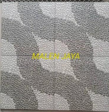 Motif Keramik Lantai 40x40 Merk Mulia Signature Alpena Grey