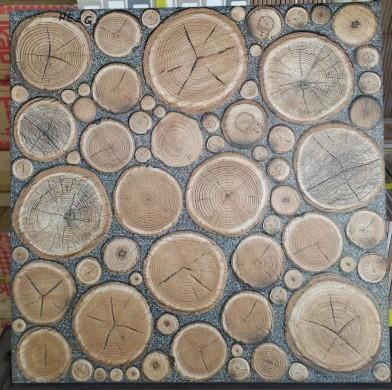 Motif Keramik Lantai 40x40 Merk Mulia Signature North Wood