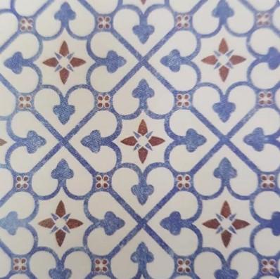 Motif Keramik Lantai 40x40 Merk Platinum Bristol Blue Decor