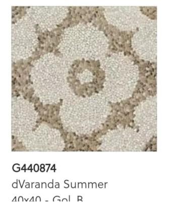 Motif Keramik Lantai 40x40 Merk Roman dVaranda Summer