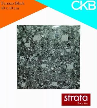 Motif Keramik Lantai 40x40 Merk Strata Terrazo