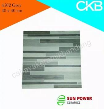 Motif Keramik Lantai 40x40 Merk Sun Power