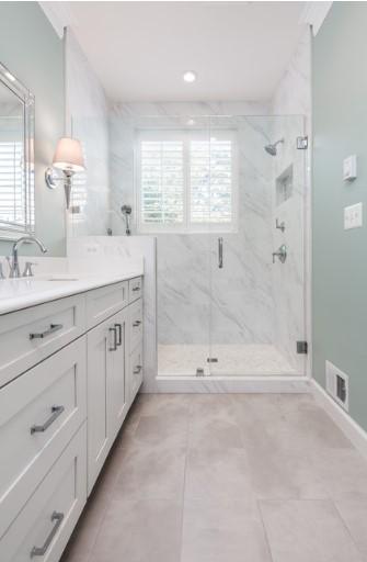 gambar keramik kamar mandi modern