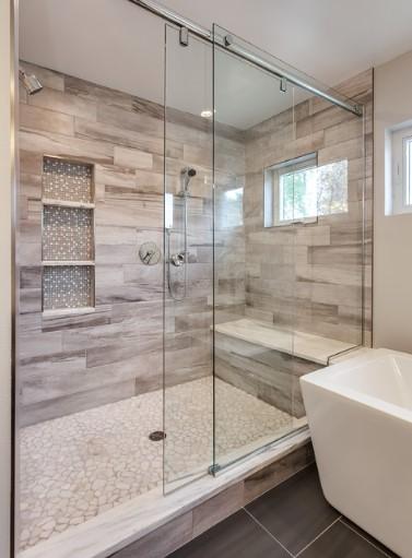 model keramik kamar mandi minimalis terbaru