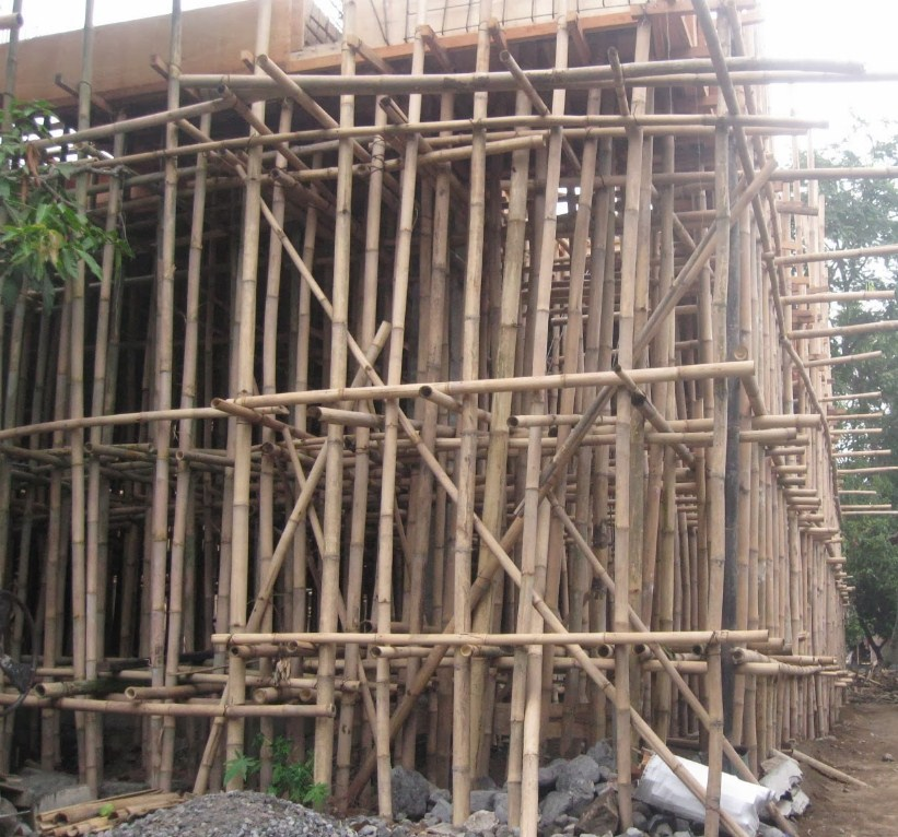 Gambar Bambu untuk Pembuatan Cor Beton